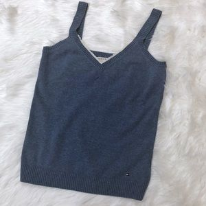 Blue Tommy Hilfiger Sweater Tank Top-S